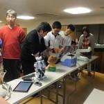 様々なロボットの展示